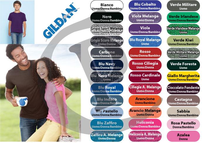 Personalizzate Prezzo T Shirt Soft Spun Gildan Primo Ring Style QorxWBedC